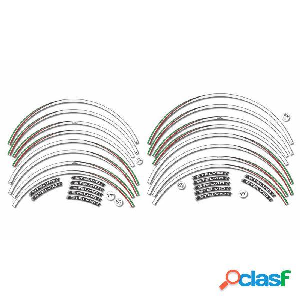 Strisce adesive per cerchi 17' e 19' compatibili con moto guzzi stelvio