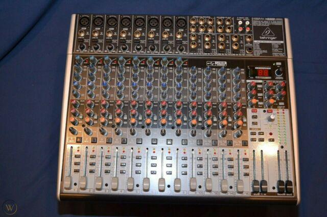 Behringer xenix x2222 usb mixer analogico 22 ingressi