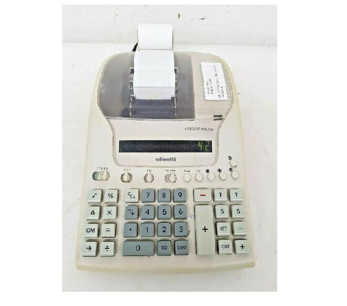 Olivetti logos 682 s calcolatrice scrivente da tavolo calcol chions