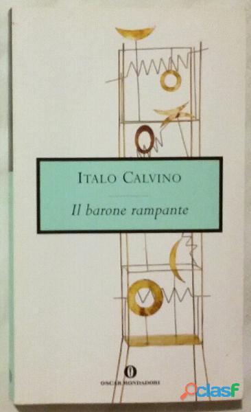 Il barone rampante di Italo Calvino; 1°Ed.Oscar Mondadori, maggio 1993 nuovo