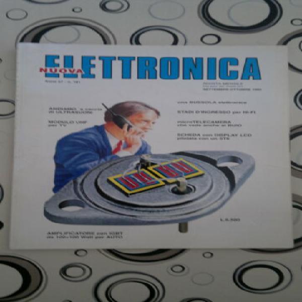 Nuova elettronica n° 181 09-10/1995 n°219 05/2005 riviste.