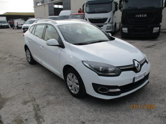 Renault megane station wagon 1.5 dci wave 4 posti 2015 rif.