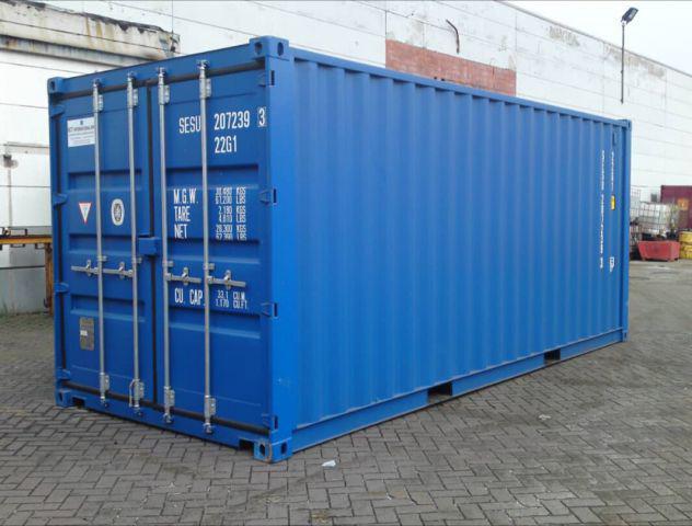 Vendita di contenitori marini