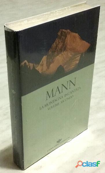 La montagna incantata volume 2°+segnapagina di Thomas Mann San Paolo Edizioni, 2004 nuovo