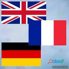 Inglese Francese Tedesco