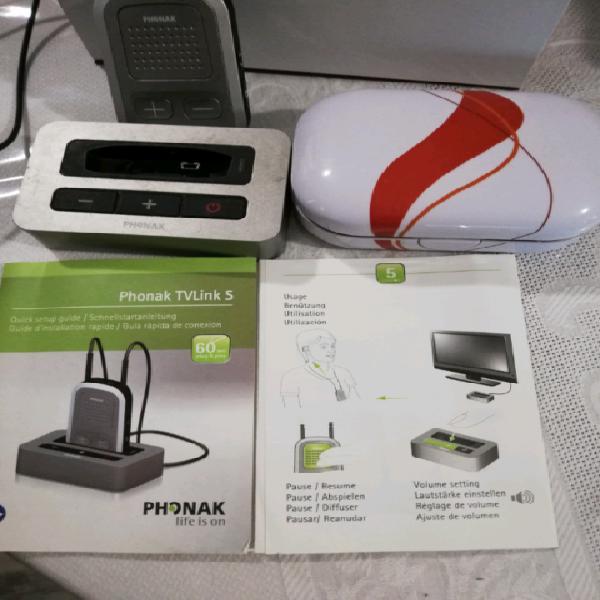 Apparecchi acustici amplifon + connect power tv