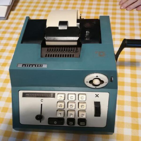 Calcolatrice olivetti anni 60