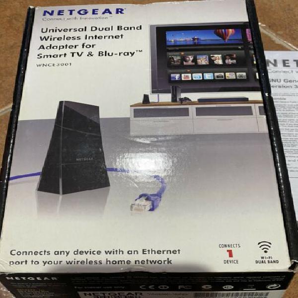 Natgear wnce3001 adattatore da wifi a ethernet