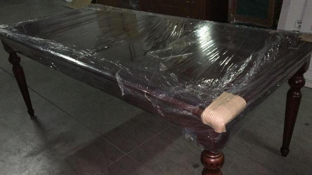 Tavolo legno massello in stile + 6 sedie