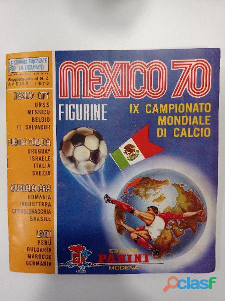 album Mexico 70 Panini vuoto