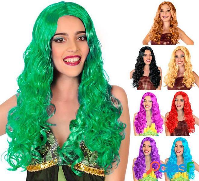 Parrucca lunga odulata in vari colori