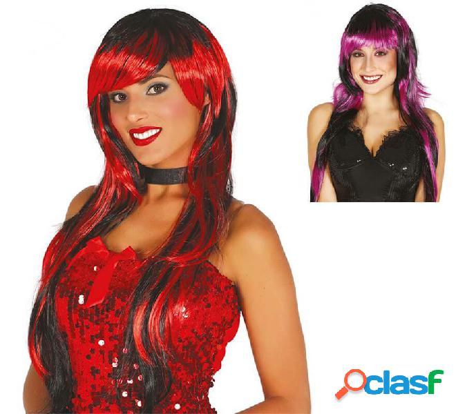 Parrucca lunga in vari colori
