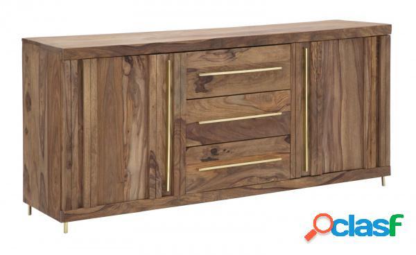Credenza buffet mobile soggiorno legno sheesham