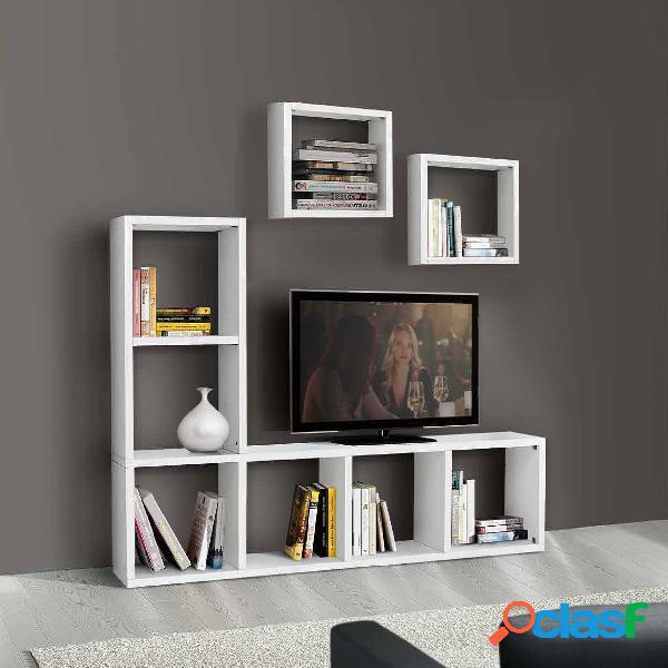 Porta tv wood 4