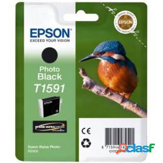 Epson cartuccia nero foto, epson, nero per foto, stylus photo r2000, molto lucida, ad inchiostro