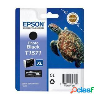 Epson cartuccia nero foto, epson, nero per foto, stylus photo r3000, 25,9 ml, ad inchiostro