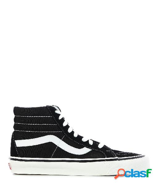 Vans hi top sneakers donna vn0a38gfpxc1d tessuto nero