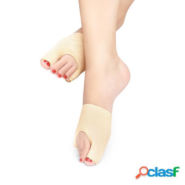Correttore di alluce valgo traspirante per le donne correttore di alluce per le dita correttore di elastico per le gambe