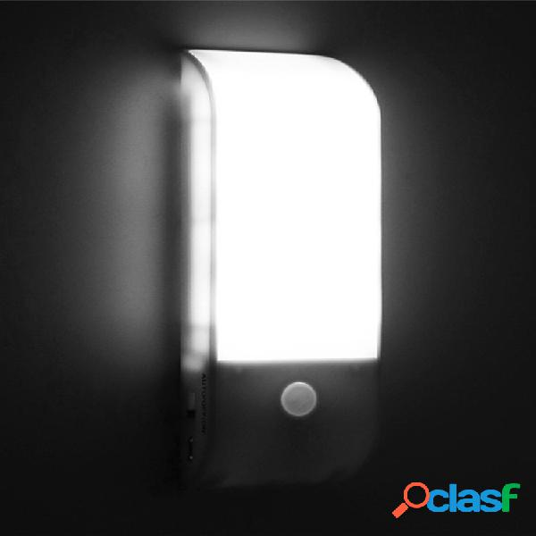 12 led cucina ricaricabile usb pir sensore di movimento luce a led parete wireless portatile da parete lampada