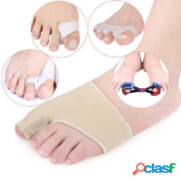 5 pezzi / set alluce valgo correzione set toe separation correction pad cura del piede