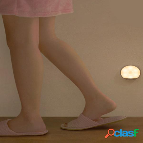 Yeelight led sensore di movimento del corpo a infrarossi luce notturna usb ricaricabile magnetico lampada