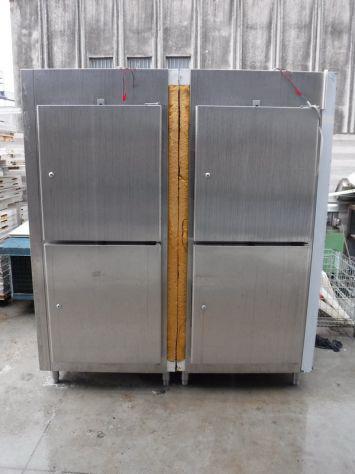 Armadio frigo/freezer inox 4 ante