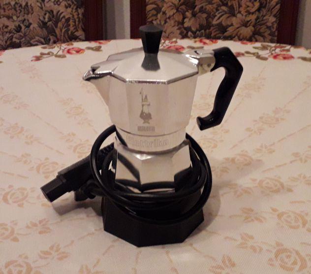 Caffettiera moka elettrika bialetti caffe' espresso da