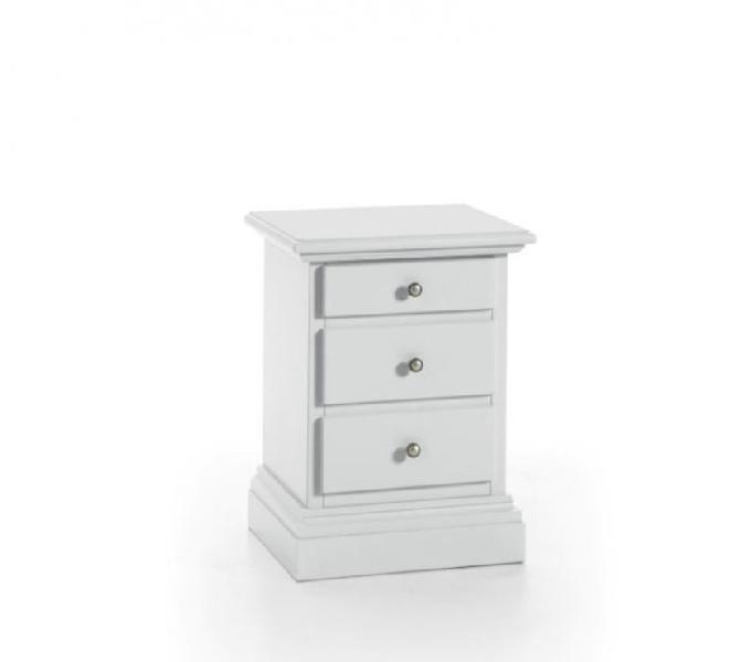 Comodino 3 cassetti bianco nuovo art.6071a in vendita bergamo - vendita mobili usati