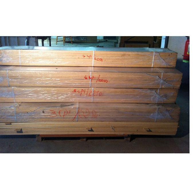 Mostrina per porta in legno massello grezzo l 225 cm chions - casalinghi - articoli per casa e giardino