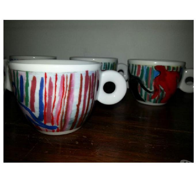 Tazzine caffe' da collezione illy genova - casalinghi - articoli per casa e giardino