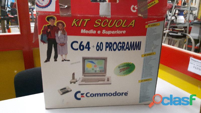 COMMODORE C64 + 60 PROGRAMMI