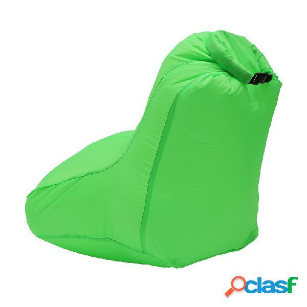 190t poliestere 120x60x48cm mobili sedia gonfiabile ad aria portatile resistente all'acqua carico massimo 150kg