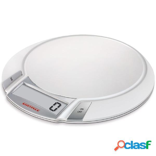 Soehnle bilancia da cucina olympia 5 kg bianca 66110
