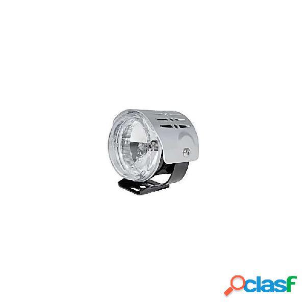 Faro anteriore supplementare alogeno round mini abbagliante cover cromo