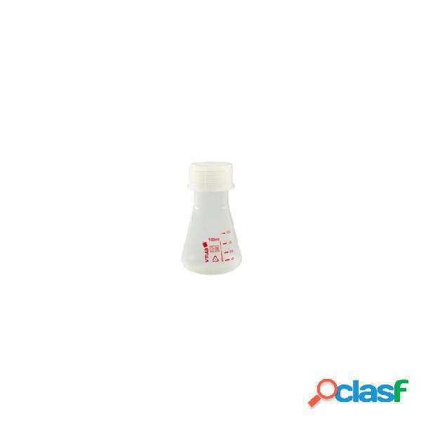 Ampolla conica in silicone con tappo a vite cl 10 - trasparente