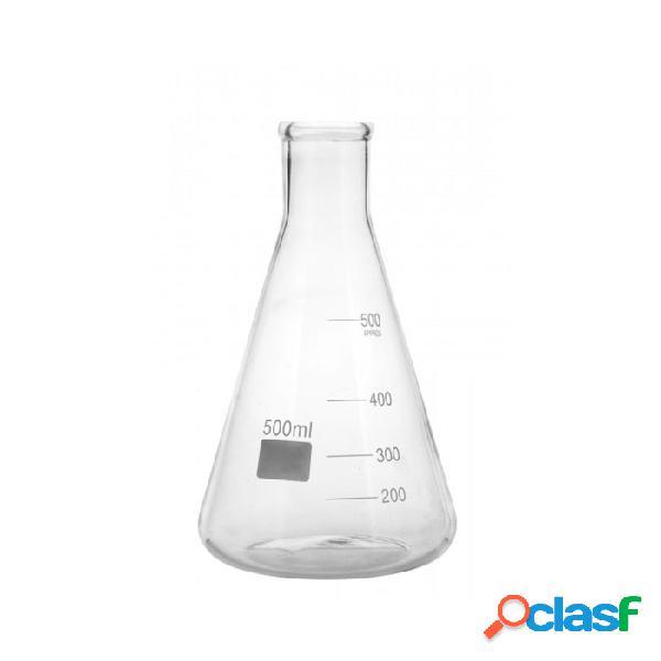 Ampolla conica graduata in vetro cl 50 - trasparente