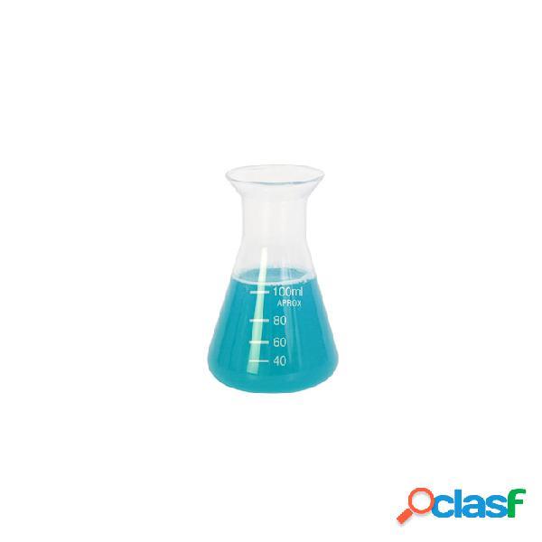 Ampolla conica graduata in vetro ml 100 - trasparente