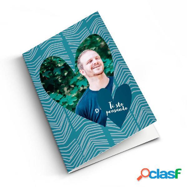 Ti penso - cartolina con foto - m - verticale