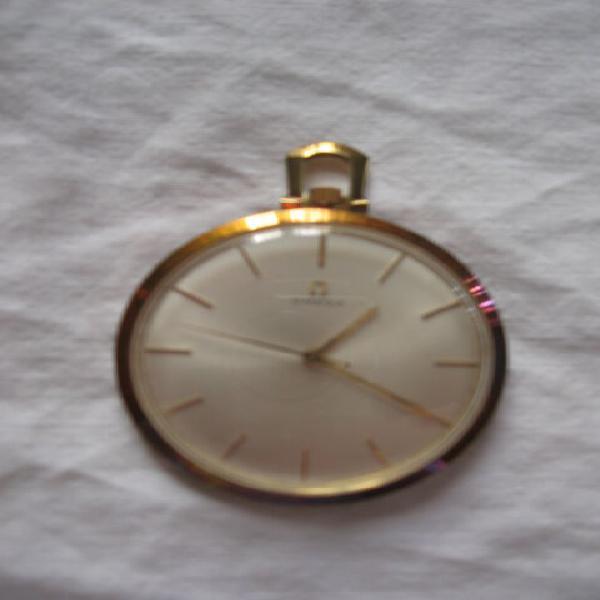 Orologio da taschino omega placato oro