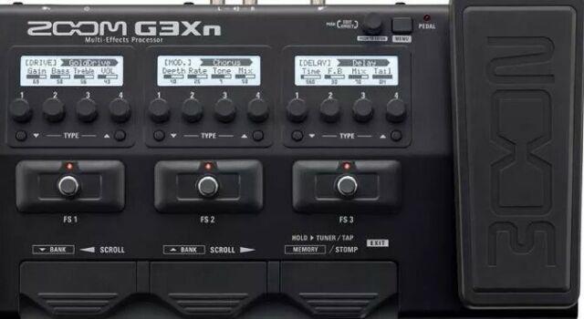 Pedaliera multieffetto chitarra zoom g3xn