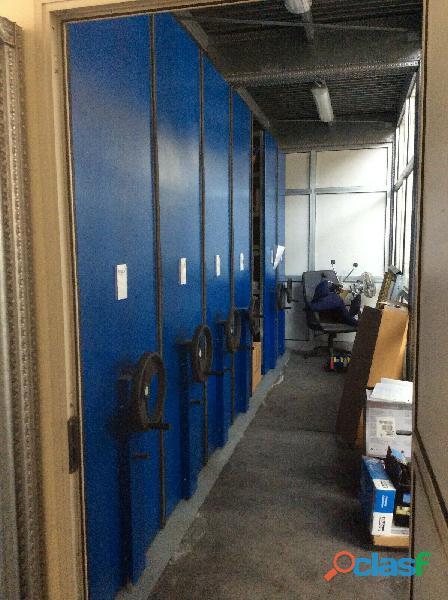 Armadio, archivio compattabile   scaffalature