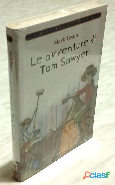 Le avventure di tom sawyer di mark twain ed.mondadori su licenza giunti, 2009 nuovo con cellophan