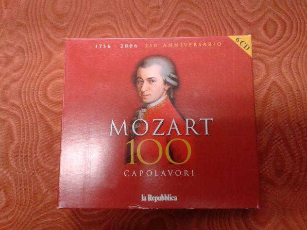 """Cofanetto cd audio """"mozart 100 capolavori"""""""