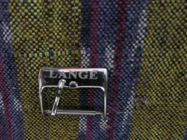 Fibbia lange e sohne originale.acciaio.18.mm acciaio.