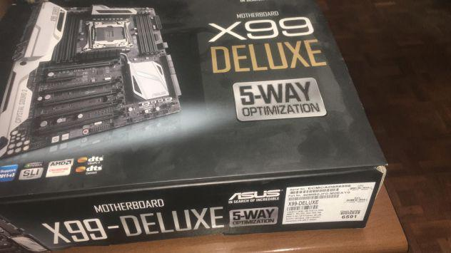 Asus x99 deluxe + i7