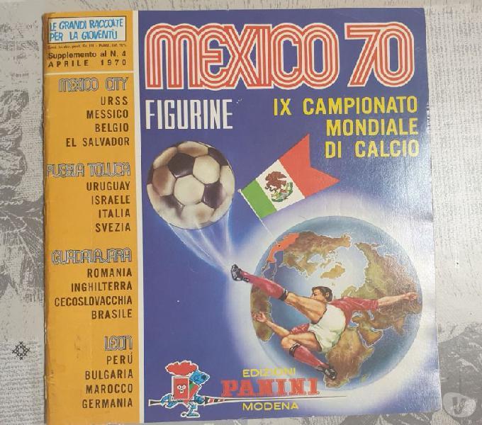 Album panini mexico 1970 pelago - collezionismo in vendita