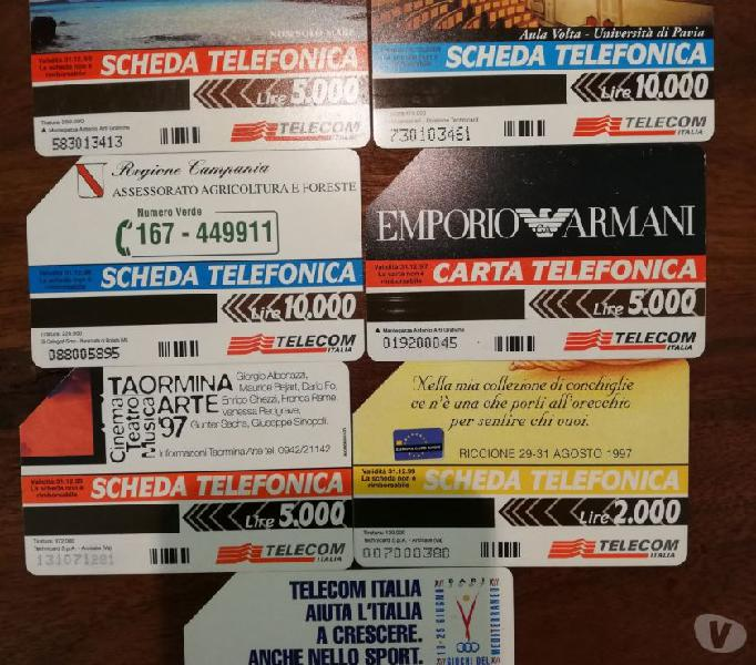 Schede telefoniche staranzano - collezionismo in vendita