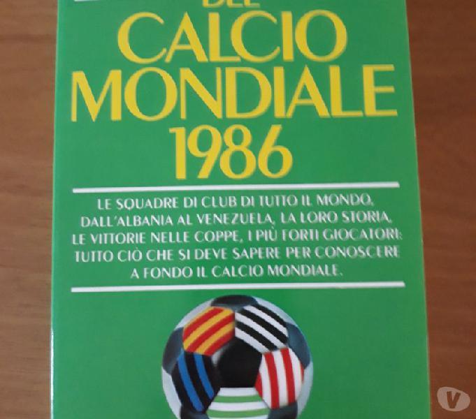 Almanacco del calcio mondiale 1986 scandiano - collezionismo in vendita