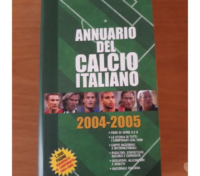 Annuario del calcio italiano 2004-2005 scandiano - collezionismo in vendita
