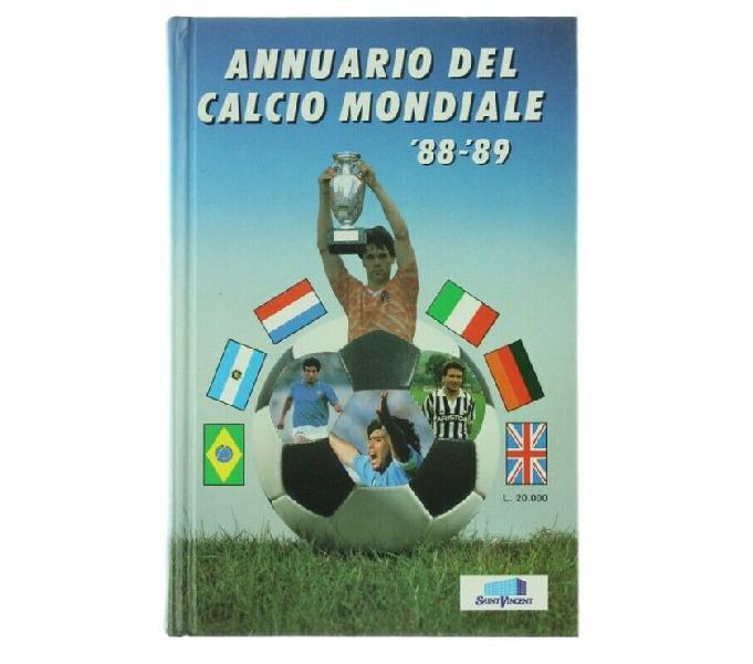 Annuario del calcio mondiale 1988-89 - 1° edizione scandiano - collezionismo in vendita